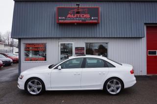 Used 2015 Audi A4 Progressiv Plus + S for sale in Lévis, QC