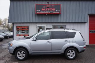 Used 2010 Mitsubishi Outlander Es 4x4 Bluetooth 8 for sale in Lévis, QC