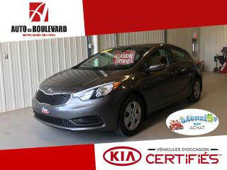 Used 2014 Kia Forte LX M6 BLUETOOTH SPOILER SUPER PRIX for sale in Notre-Dame-des-Pins, QC