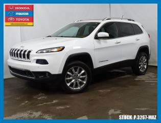 Used 2014 Jeep Cherokee Ltd|4500lbs|active for sale in Drummondville, QC