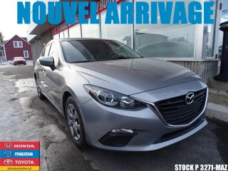 Used 2015 Mazda MAZDA3 Sport Gx|bluetooth|a/c|grp for sale in Drummondville, QC