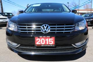 Used 2015 Volkswagen Passat Highline ACCIDENT FREE for sale in Brampton, ON