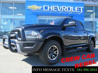 Used 2015 RAM 1500 Rebel, T.ouvrant for sale in Ste-Marie, QC