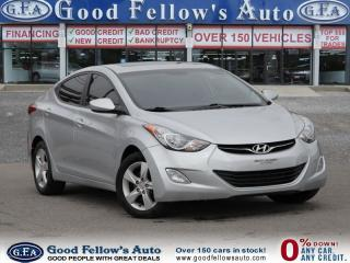 Used 2013 Hyundai Elantra GLS MODEL, SUNROOF, HEATED SEATS for sale in Toronto, ON