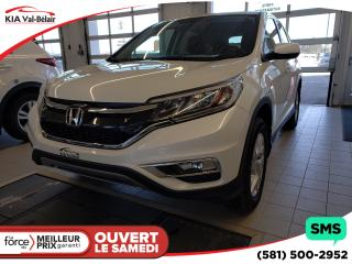 Used 2016 Honda CR-V Se Caméra Cruise for sale in Québec, QC
