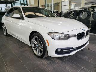 Used 2016 BMW 3 Series XDRIVE, HEATED SEATS, SUNROOF for sale in Edmonton, AB