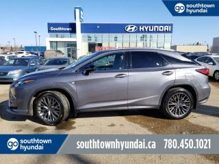 Used 2016 Lexus RX 350 F-SPORT/SERIES 2/NAVI/ACCIDENT FREE/ROOF for sale in Edmonton, AB