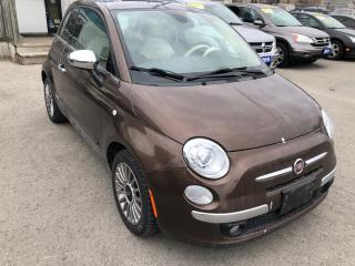 Used 2012 Fiat 500 Lounge for sale in St Catharines, ON