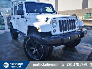 Used 2015 Jeep Wrangler Unlimited SAHARA/FOXLIFT/RIMS&TIRES/HARD&SOFTTOP for sale in Edmonton, AB