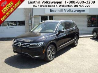 Used 2018 Volkswagen Tiguan Highline 2.0T 8sp at w/Tip 4M for sale in Walkerton, ON