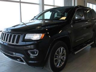 Used 2014 Jeep Grand Cherokee Overland/One Owner/Clear Carfax for sale in Edmonton, AB