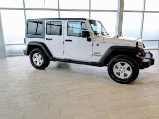 Used 2017 Jeep Wrangler Unlimited 6 SPEED/4X4/ONLY 11835 KMS. for sale in Edmonton, AB
