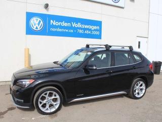 Used 2015 BMW X1 xDrive28i AWD - HEATED LEATHER / NAVI / BACKUP CAMERA for sale in Edmonton, AB