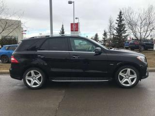 Used 2012 Mercedes-Benz ML-Class ML 350 AWD Navigation Panoramic Moonroof for sale in Red Deer, AB