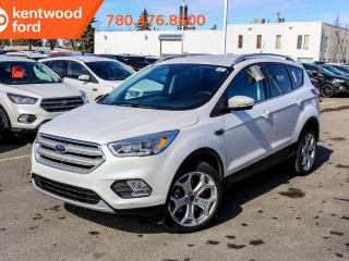 New 2019 Ford Escape Titanium 400A 2.0L 4WD ecoboost, NAV, heated power seats, keyless entry, reverse camera/sensing system for sale in Edmonton, AB