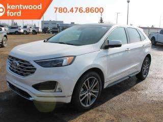 New 2019 Ford Edge TITANANIUM, All Wheel Drive, loaded up, Heated/Cooled leather! for sale in Edmonton, AB