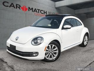 Used 2015 Volkswagen Beetle COMFORTLINE / LEATHER / SUNROOF for sale in Cambridge, ON