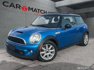 Used 2012 MINI Cooper S / LEATHER / SUNROOF / NO ACCIDENTS for sale in Cambridge, ON