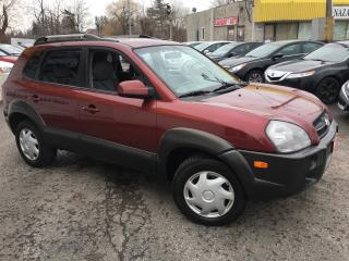 Used 2007 Hyundai Tucson GL/ AUTO/ POWER GROUP/ TINTED WINDOWS/ LOW MILEAGE for sale in Scarborough, ON