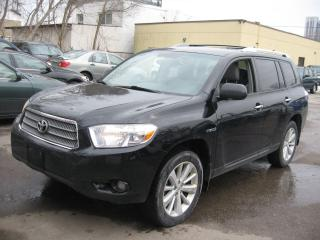 Used 2010 Toyota Highlander Hybrid LIMITED for sale in Scarborough, ON