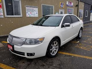 Used 2008 Lincoln MKZ AWD-NAVIGATION-SUNROOF for sale in Tilbury, ON