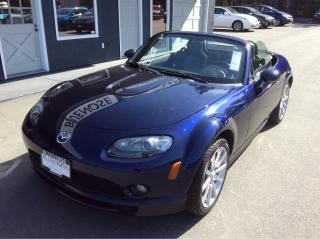 Used 2007 Mazda Miata MX-5 GS for sale in Parksville, BC