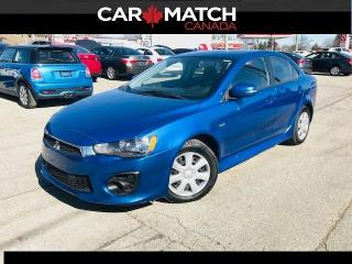 Used 2016 Mitsubishi Lancer ES / *AUTO* / AC / POWER GROUP for sale in Cambridge, ON