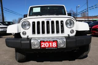 Used 2018 Jeep Wrangler Sahara ACCIDENT FREE for sale in Brampton, ON