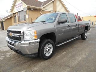 Used 2014 Chevrolet Silverado 2500 LS Crew Cab 8FT Box 6.0L RWD ONLY 26,000KMs for sale in Etobicoke, ON