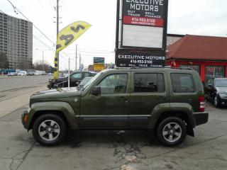 Used 2008 Jeep Liberty SPORT/ 4X4 / WELL MAINTAINED / CERTIFIED / for sale in Scarborough, ON