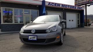 Used 2012 Volkswagen Golf ALLOY- NO ACCIDENTS,MADE IN GERMANY for sale in Hamilton, ON