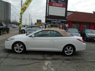 Used 2008 Toyota Camry Solara SLE / MINT / CERTFIIED / DROP TOP / LOW KM / for sale in Scarborough, ON