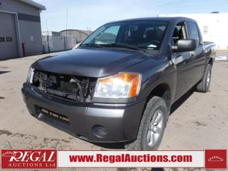 Used 2014 Nissan Titan S Crew CAB SWB 4WD 5.6L for sale in Calgary, AB