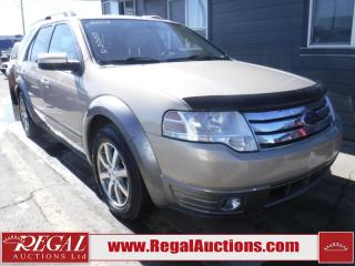Used 2008 Ford Taurus X 4D Utility 4WD for sale in Calgary, AB