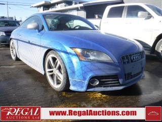 Used 2010 Audi TTS Premium 2D Coupe AWD for sale in Calgary, AB