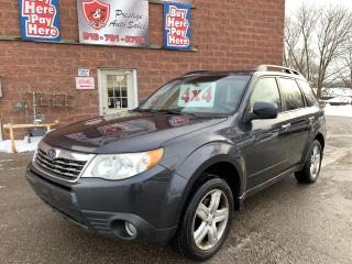 Used 2010 Subaru Forester X Limited/AWD/2.5L/ONE OWNER/NO ACCIDENT/CERTIFIED for sale in Cambridge, ON