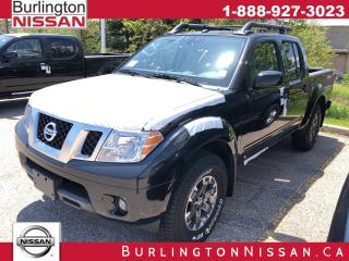New 2019 Nissan Frontier Pro-4X for sale in Burlington, ON