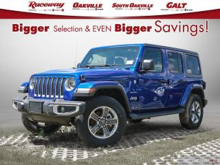 New 2019 Jeep Wrangler Unlimited Sahara for sale in Etobicoke, ON