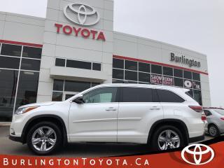 Used 2016 Toyota Highlander Limited BIG WARRANTY for sale in Burlington, ON