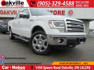 Used 2013 Ford F-150 LARIAT | 4X4 | SIDE STEPS | B\U CAM | NAV for sale in Oakville, ON