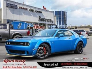 New 2018 Dodge Challenger SRT Hellcat   WIDEBODY   NEW   SUPERCHARGED HEMI   for sale in Etobicoke, ON