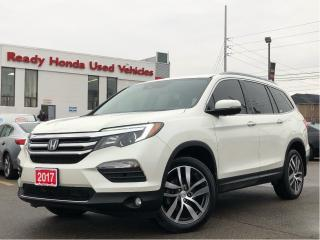 Used 2017 Honda Pilot Touring - Navigation - DVD - Panoramic Roof for sale in Mississauga, ON