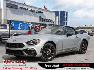New 2019 Fiat 124 Spider Abarth | BLIND SPOT | LTHR | NAV | BOSE SOUND for sale in Etobicoke, ON