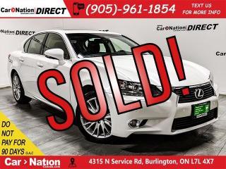 Used 2013 Lexus GS 350 | AWD| NAVI| SUNROOF| FRONT & REAR SENSORS| for sale in Burlington, ON
