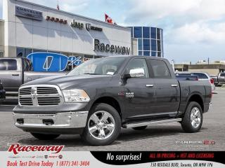 New 2018 RAM 1500 Big Horn | COMPANY DEMO | YEARLY CLEAROUT | LUX GR for sale in Etobicoke, ON