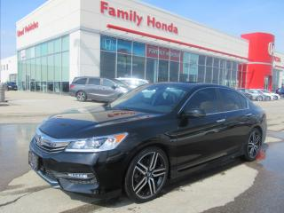 Used 2017 Honda Accord Sport w/Honda Sensing for sale in Brampton, ON