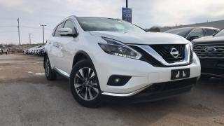 Used 2018 Nissan Murano SL 3.5L V6 AWD LEATHER NAVIGATION for sale in Midland, ON