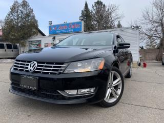 Used 2015 Volkswagen Passat 4dr Sdn 2.0 TDI Highline NAVI BSVK UP CAM ACCIDENT FREE for sale in Brampton, ON