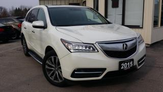 Used 2015 Acura MDX SH-AWD 6-Spd AT w/Tech Package for sale in Kitchener, ON
