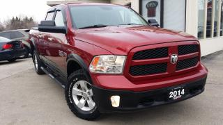 Used 2014 RAM 1500 SLT Crew Cab LWB 4WD for sale in Kitchener, ON